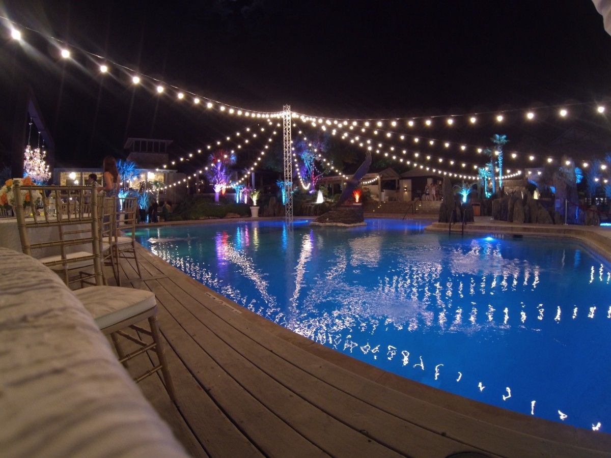 Well Known Outdoor Hanging Pool Lights In String Lighting – Dpc Event Services (View 20 of 20)