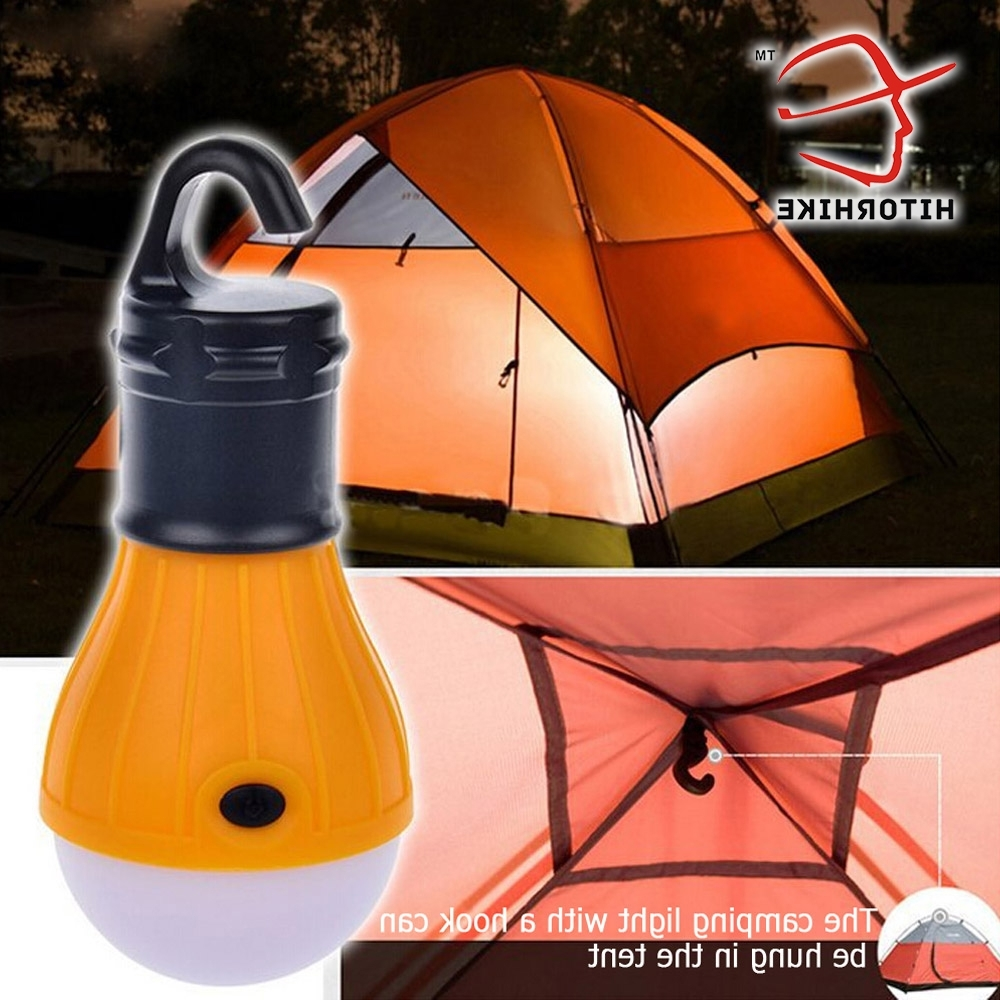 Well Known Outdoor Led Camping Lamp Tent Night Light Bulb Abs Energy Saving Low In Outdoor Hanging Camping Lights (View 19 of 20)