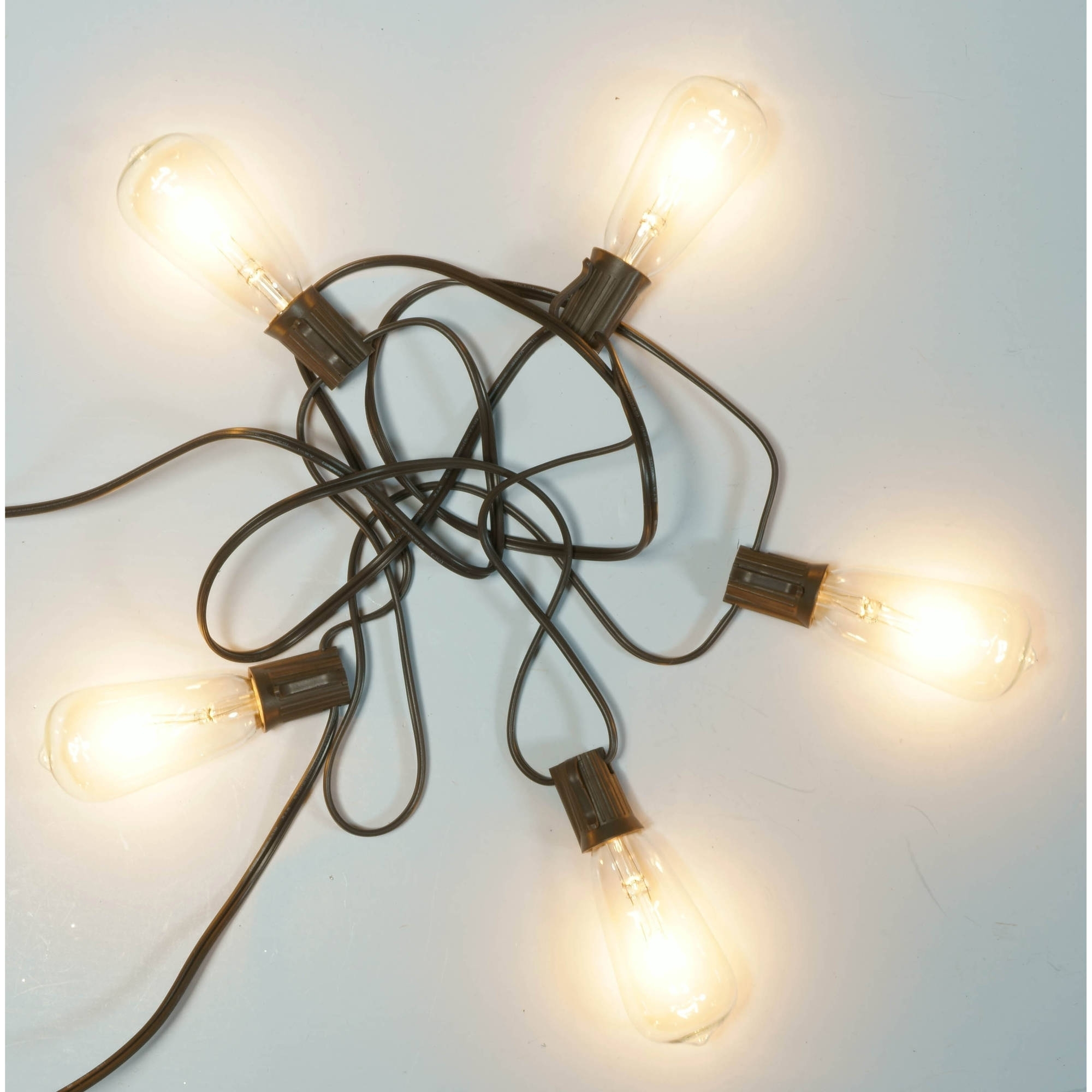 Well Known Outdoor Plastic Hanging Lights Inside Better Homes And Gardens Outdoor Glass Edison String Lights,  (View 19 of 20)