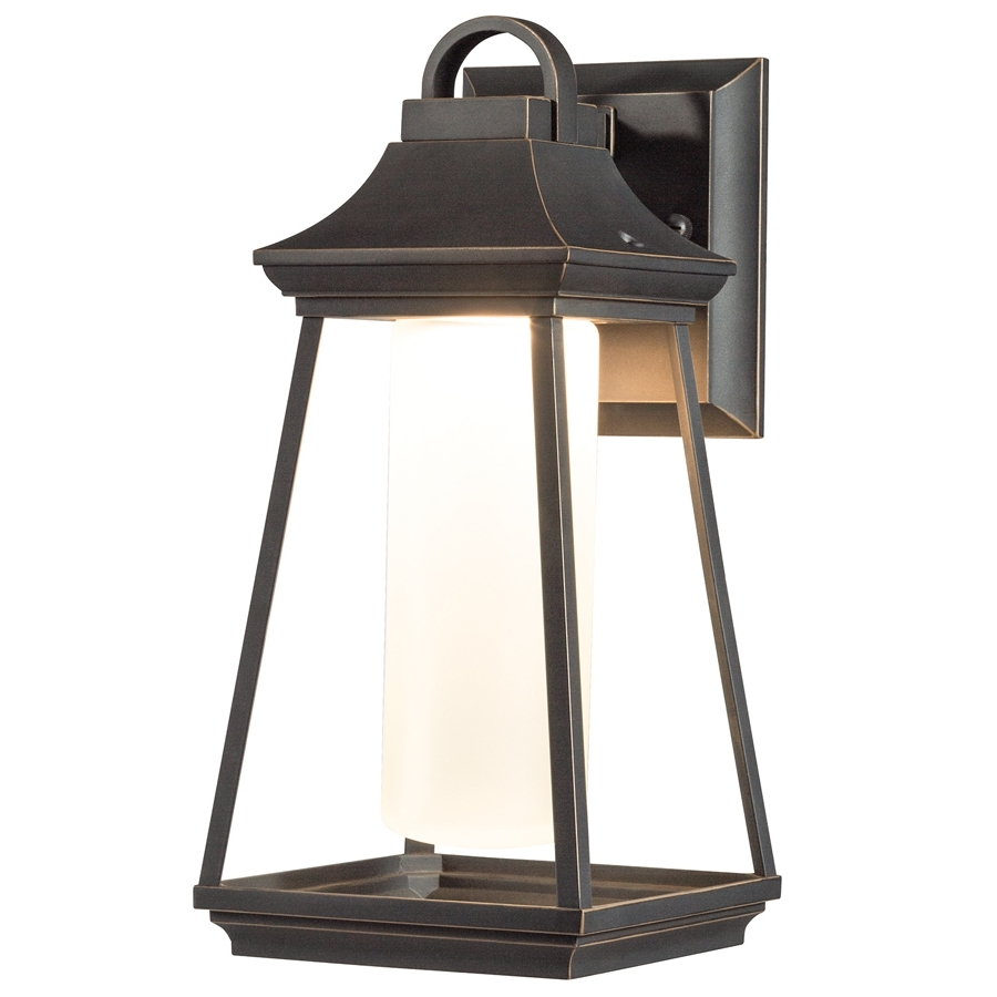 Well Known Outdoor Wall Led Kichler Lighting With Shop Kichler Lighting Hartford  (View 18 of 20)