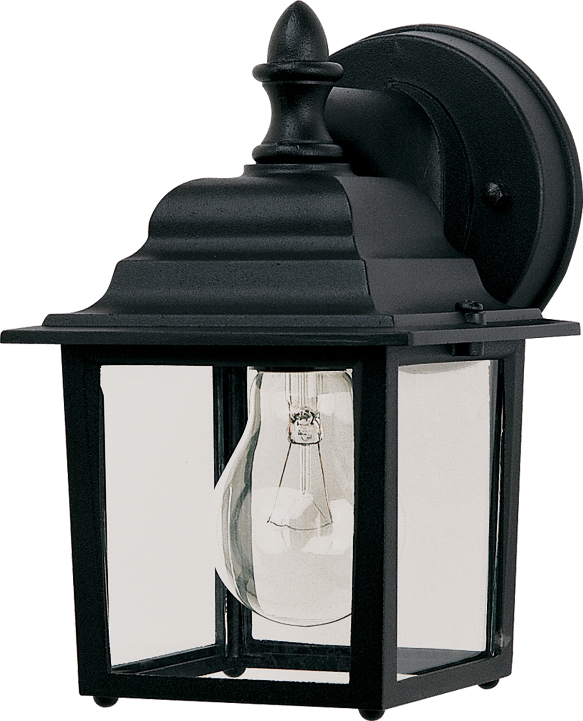 Well Known Outdoor Wall Lighting At Houzz Regarding Builder Cast 1 Light Outdoor Wall Lantern – Outdoor Wall Mount (View 18 of 20)