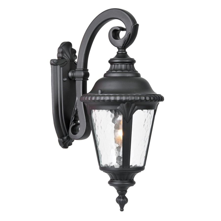 Well Known Shop Acclaim Lighting Surrey 19 In H Matte Black Outdoor Wall Light Pertaining To Acclaim Lighting Outdoor Wall Lights (View 19 of 20)
