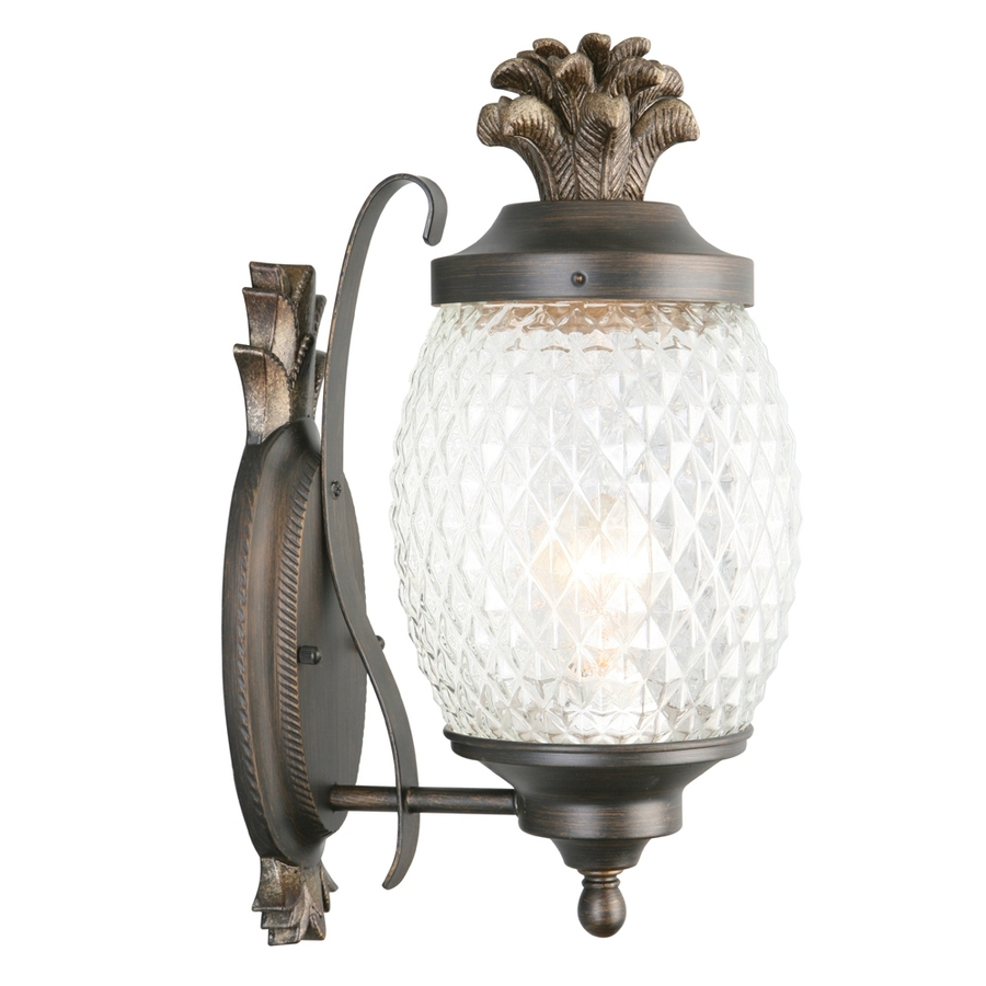 Well Known Shop Outdoor Wall Lighting At Lowes With Regard To Lowes Solar Garden Lights Fixtures (View 12 of 20)