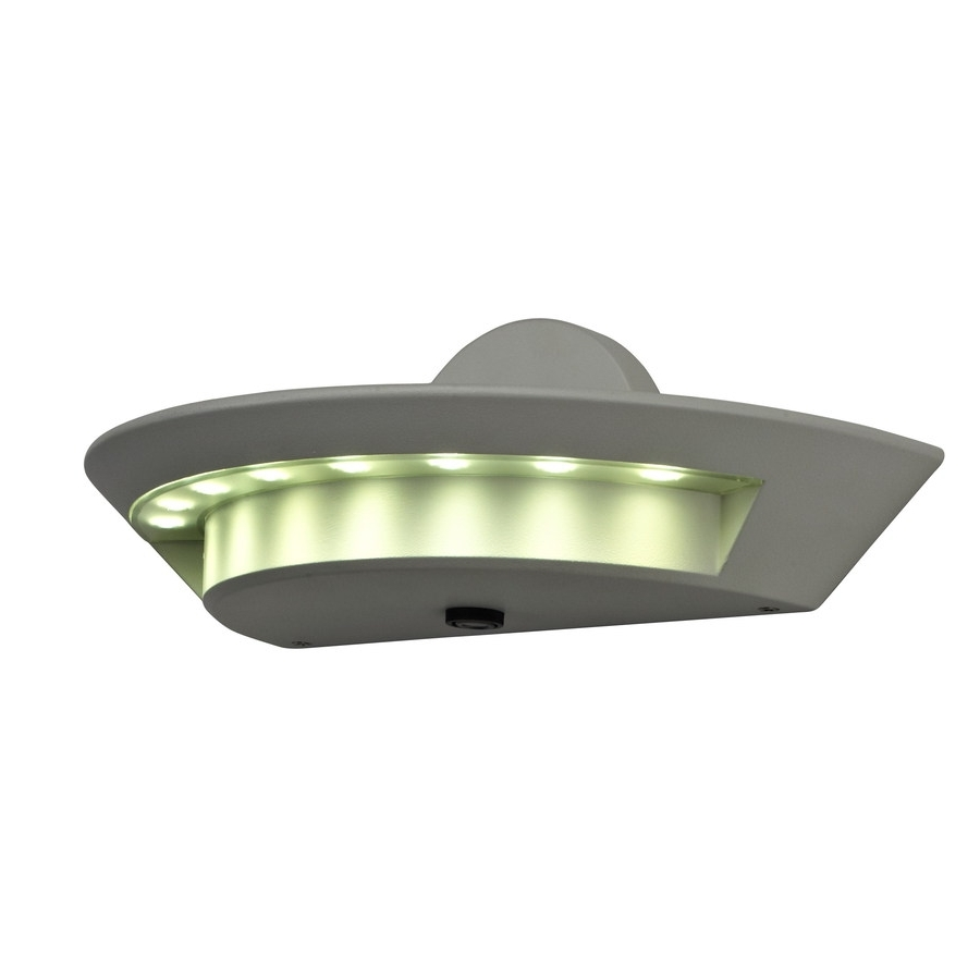 Well Known Shop Utilitech 1 Head 24 Watt White Led Dusk To Dawn Flood Light At Regarding Dusk To Dawn Outdoor Ceiling Lights (View 19 of 20)