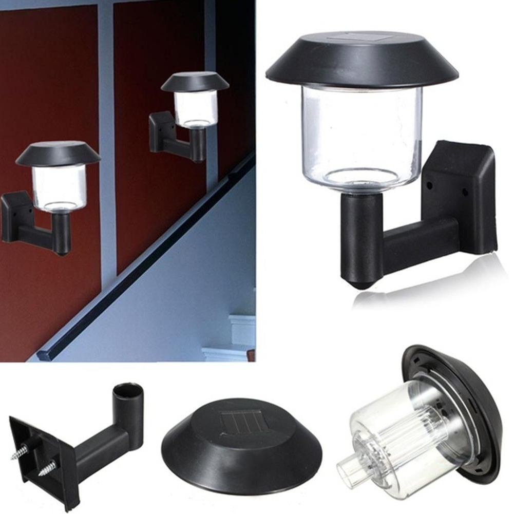 Well Known South Africa Outdoor Wall Lighting With Furniture : 2V60Ma Solar Panel Led Outdoor Wall Light Lamp Lights (View 18 of 20)
