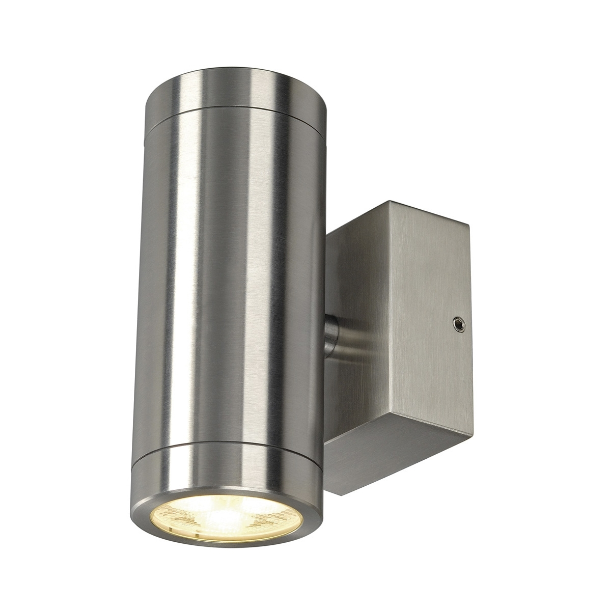 Well Known Stainless Steel Outdoor Ceiling Lights With Regard To Astina Steel, Outdoor Wall Light, Led, 3000K, Ip44, Round, Stainless (View 18 of 20)