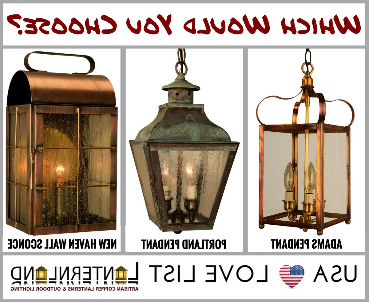 Well Known The Lanternland Lighting Blog: Home Lighting 101 In Made In Usa Outdoor Wall Lighting (View 18 of 20)