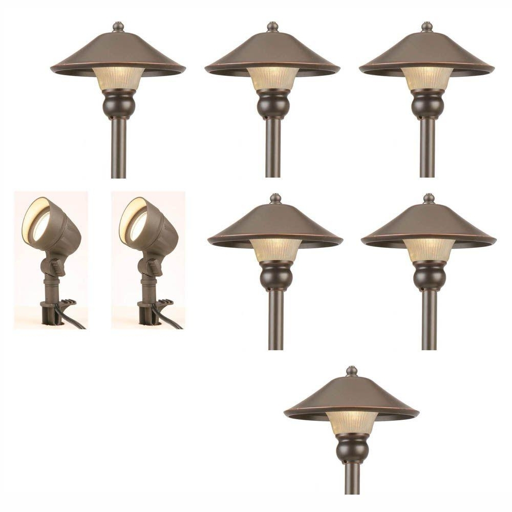 Featured Photo of Modern Solar Driveway Lights At Home Depot