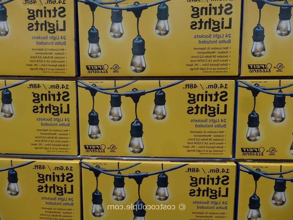 Well Liked 24 Popular Outdoor String Lights Costco – Pixelmari Within Solar Garden Lights At Costco (View 20 of 20)
