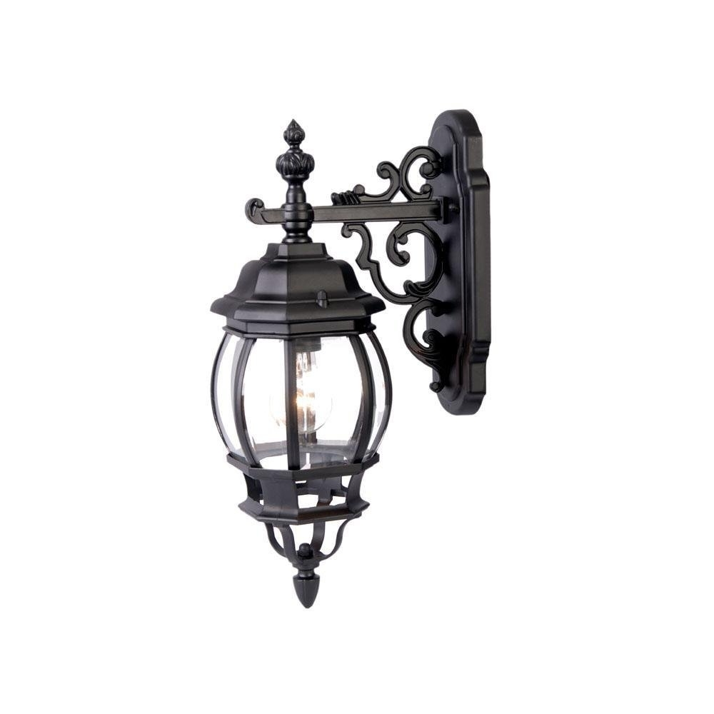 Well Liked Acclaim Lighting Chateau 1 Light Outdoor Wall Lantern Matte Black Throughout Acclaim Lighting Outdoor Wall Lights (View 20 of 20)