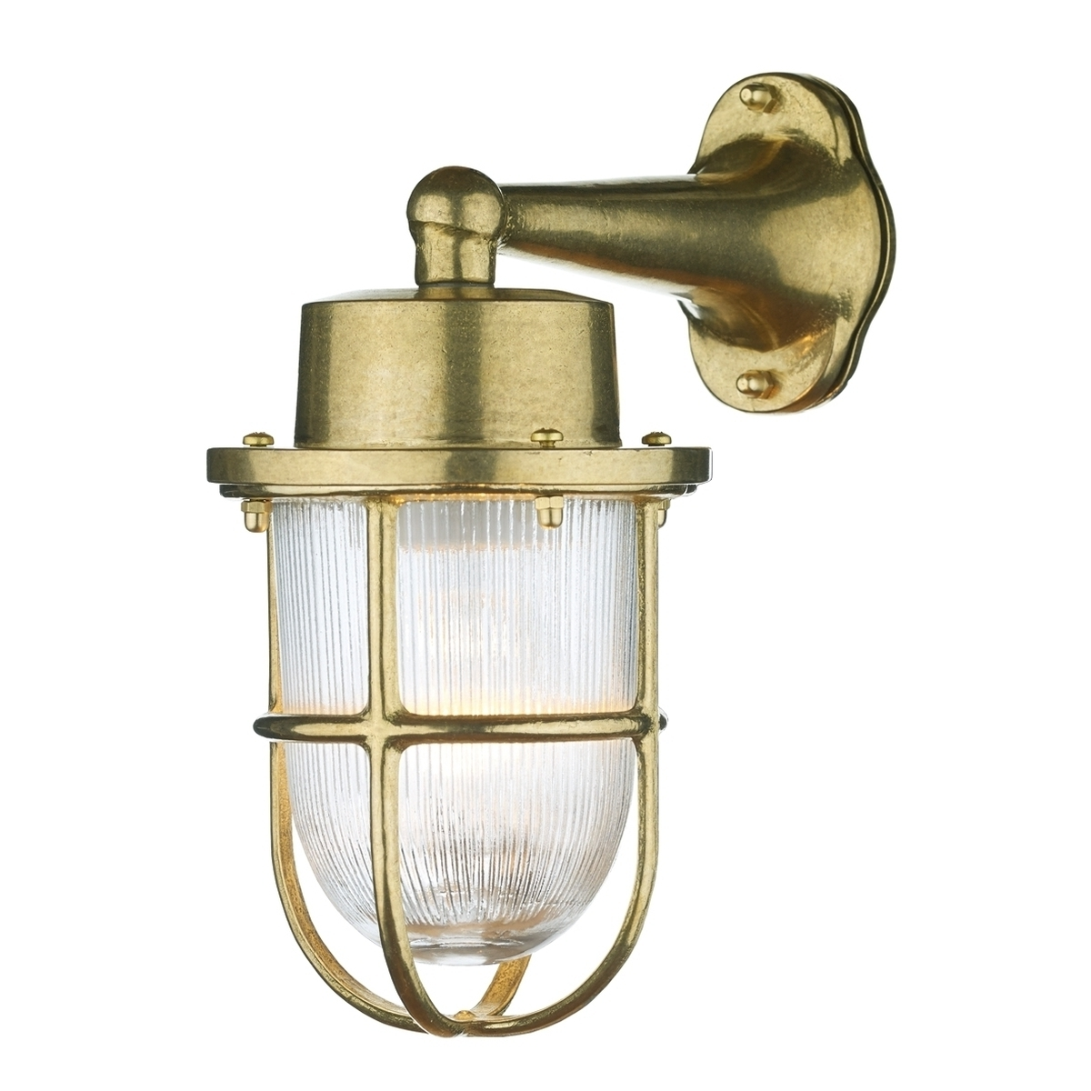 Well Liked Brass Outdoor Wall Lighting Pertaining To Harbour Outdoor Wall Light Brass With Brass Outdoor Lights Brass (View 20 of 20)