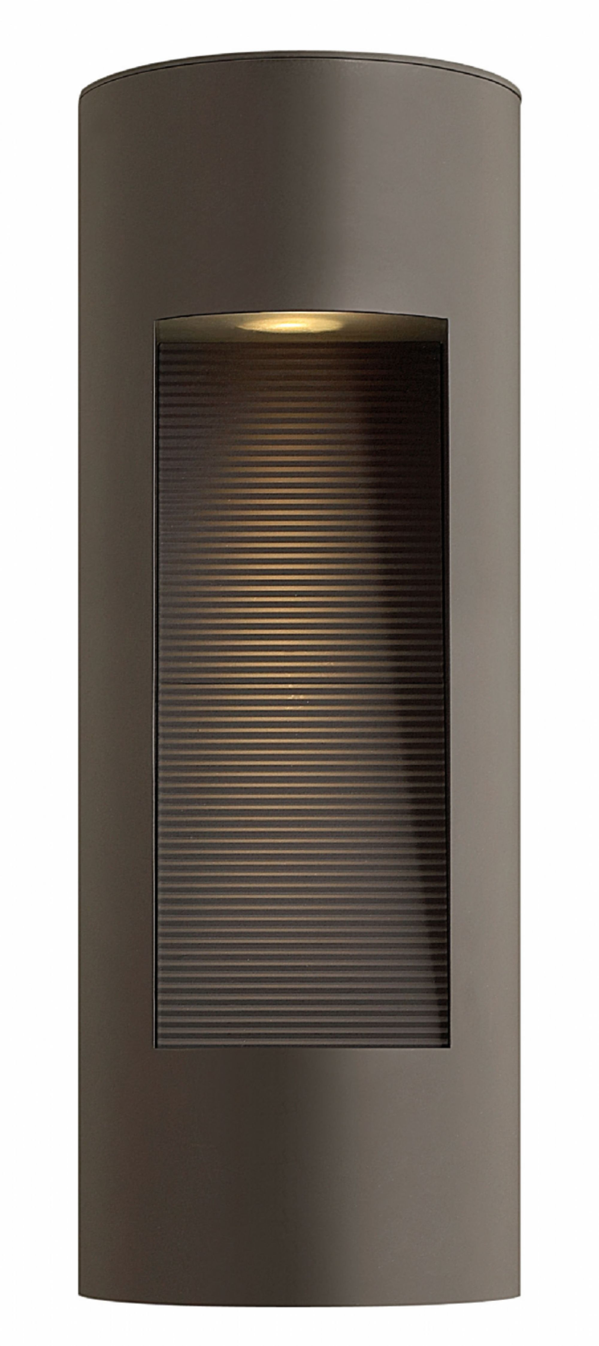 Well Liked Bronze Luna > Exterior Wall Mount Within Modern Outdoor Hinkley Lighting (View 8 of 20)