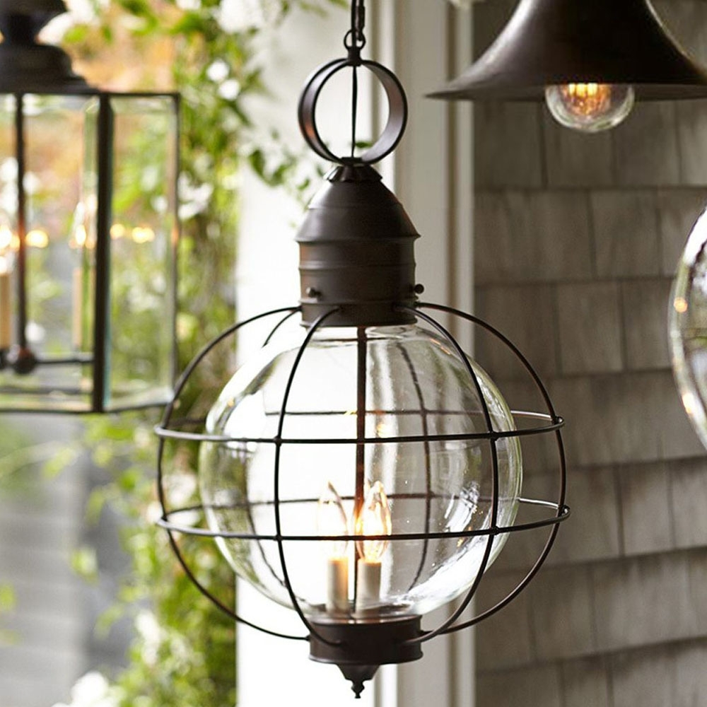 Well Liked Buy Lights Hanging Outdoor And Get Free Shipping On Aliexpress Throughout Outdoor Iron Hanging Lights (View 20 of 20)