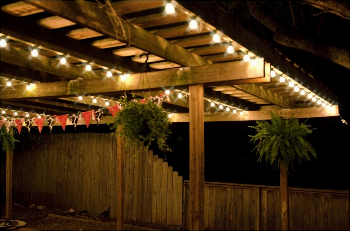 Well Liked Hanging Outdoor Rope Lights With Regard To Beautiful Rope Lights Outdoor Picture – Best Outdoor Design Ideas (View 20 of 20)