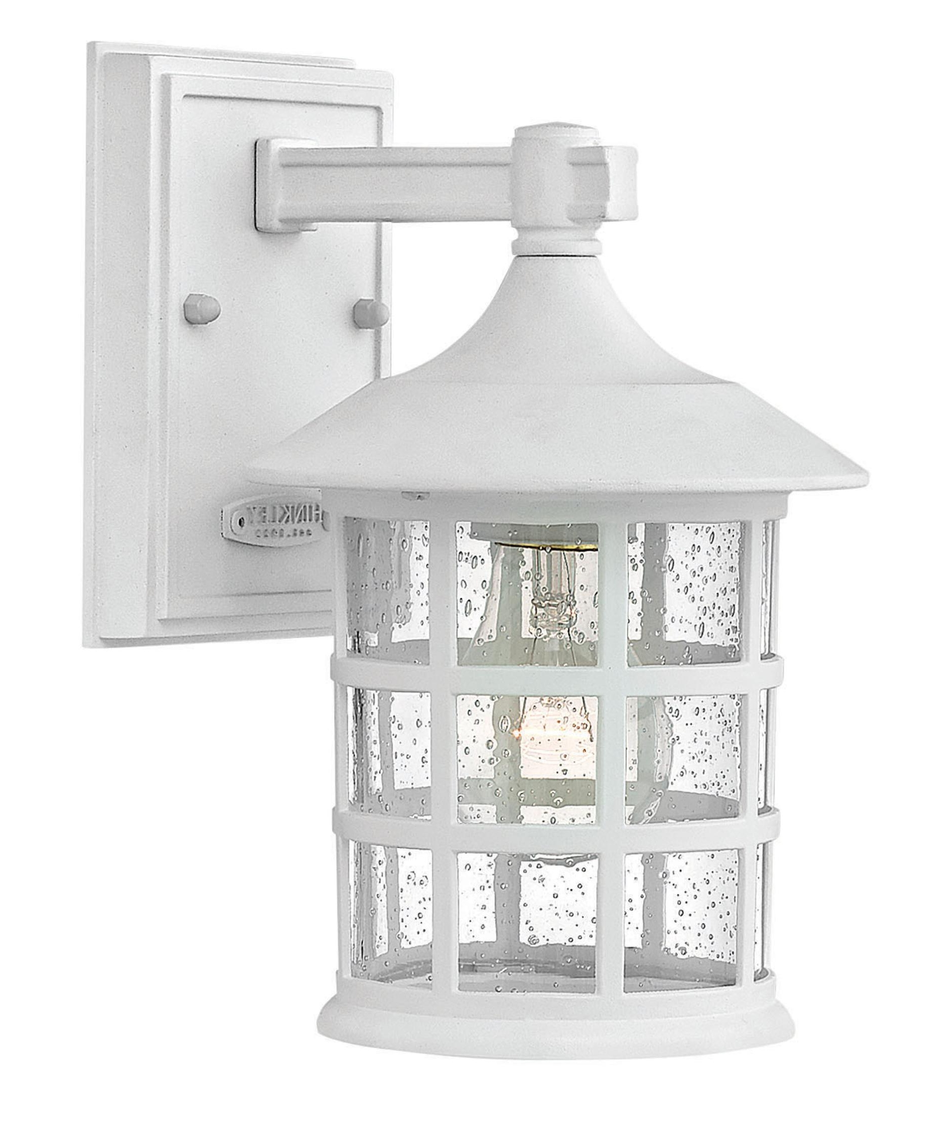 Well Liked Hinkley Lighting 1800 Freeport 6 Inch Wide 1 Light Outdoor Wall Intended For Outdoor Wall Lights In White (View 20 of 20)