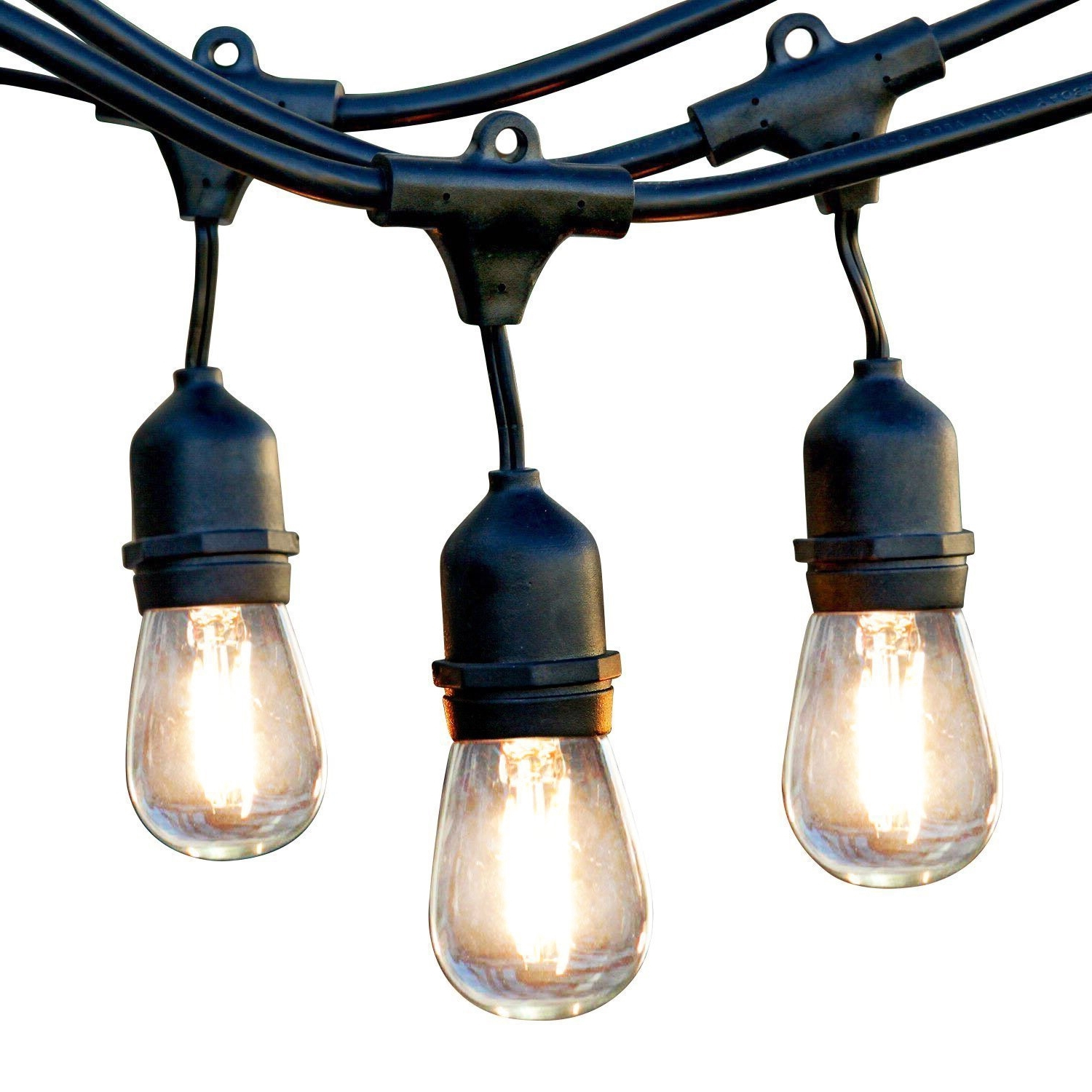 Well Liked Led Outdoor Hanging Lights For Newhouse Lighting Outdoor String Lights, Commercial Grade Led (View 3 of 20)