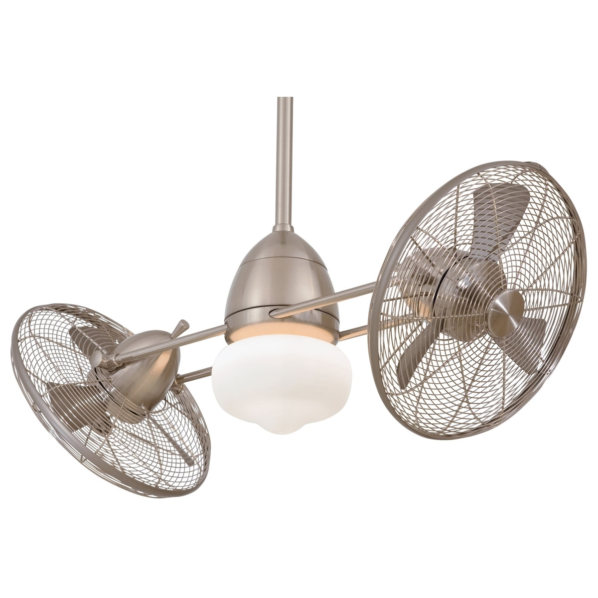 Well Liked Minka Aire Gyro Wet – Indoor / Outdoor Ceiling Fan – The Green Head With Outdoor Ceiling Lights At Ebay (View 20 of 20)