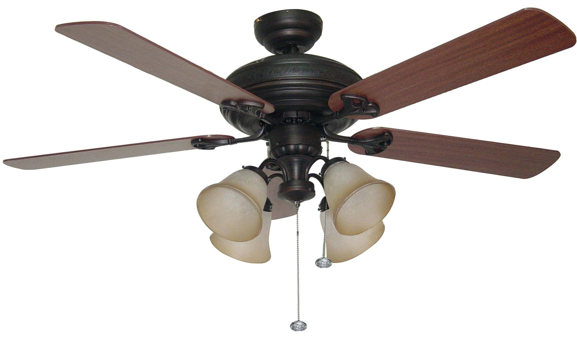 Well Liked Outdoor Ceiling Fans With Lights At Ebay Within Outdoor Ceiling Fans With Lights Flush Mount Without Outside (View 13 of 20)