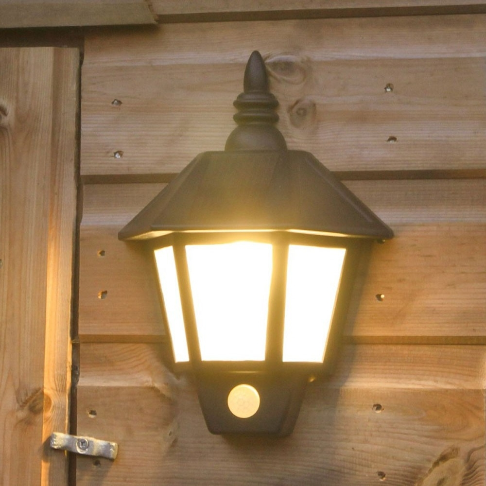 Well Liked Outdoor Lighting: Outstanding Solar Wall Lights Solar Outdoor Wall In Solar Powered Outdoor Wall Lights (View 17 of 20)