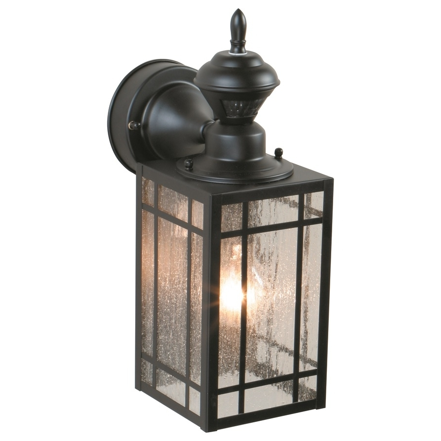 Well Liked Outdoor Wall Light Fixtures With Motion Sensor Pertaining To Outdoor Garage : Led Yard Lights Motion Detector Flood Lights (View 14 of 20)