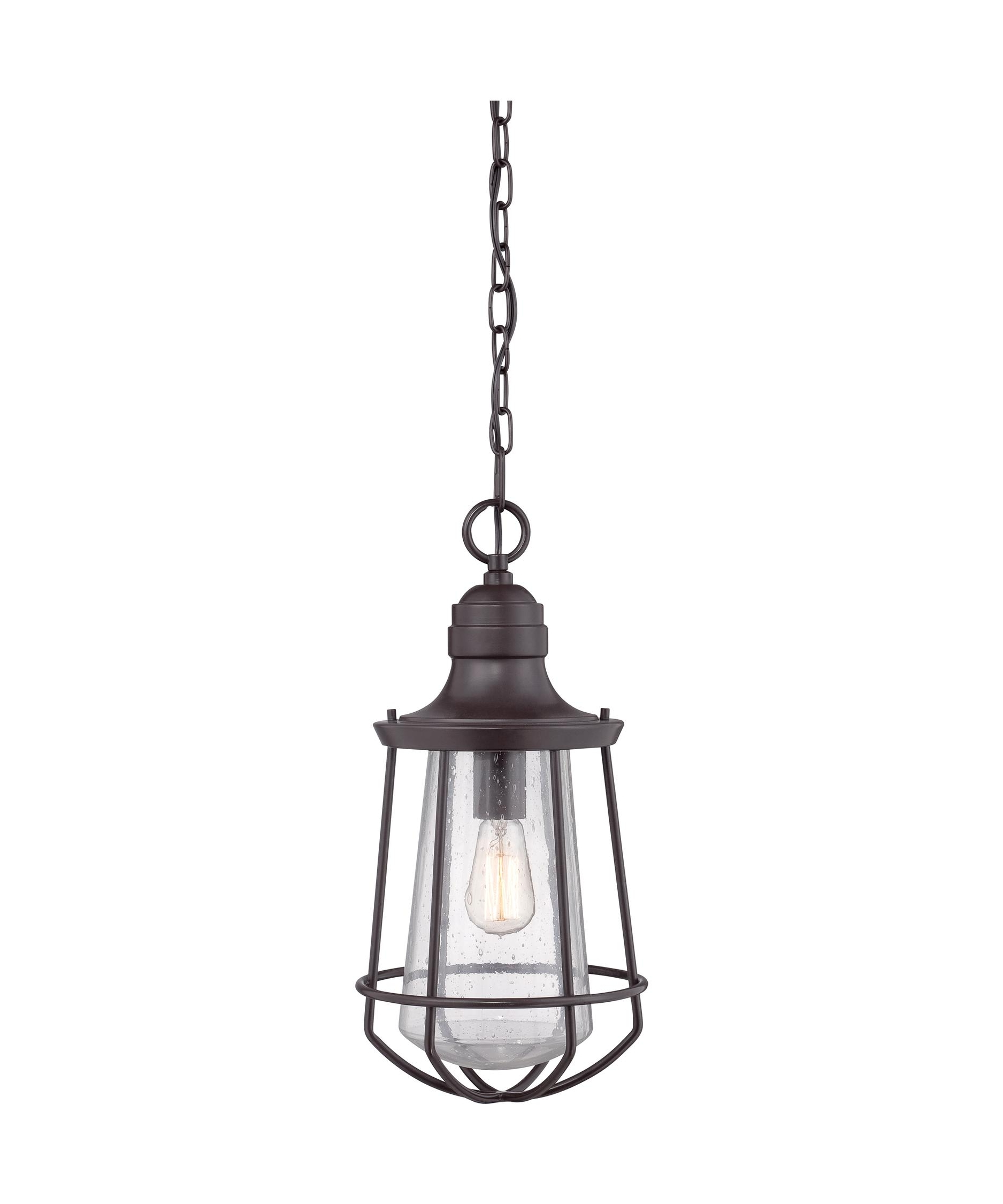 Well Liked Quoizel Mre1909 Marine 10 Inch Wide 1 Light Outdoor Hanging Lantern Pertaining To Quoizel Outdoor Hanging Lights (View 2 of 20)
