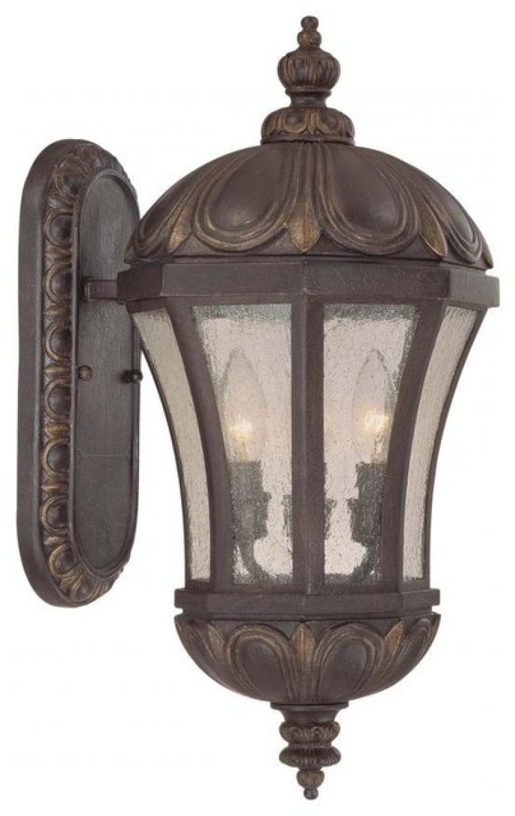 Well Liked Tuscan Outdoor Wall Lighting Throughout Products / Exterior / Outdoor Lighting / Outdoor Wall Lights Sconces (View 19 of 20)