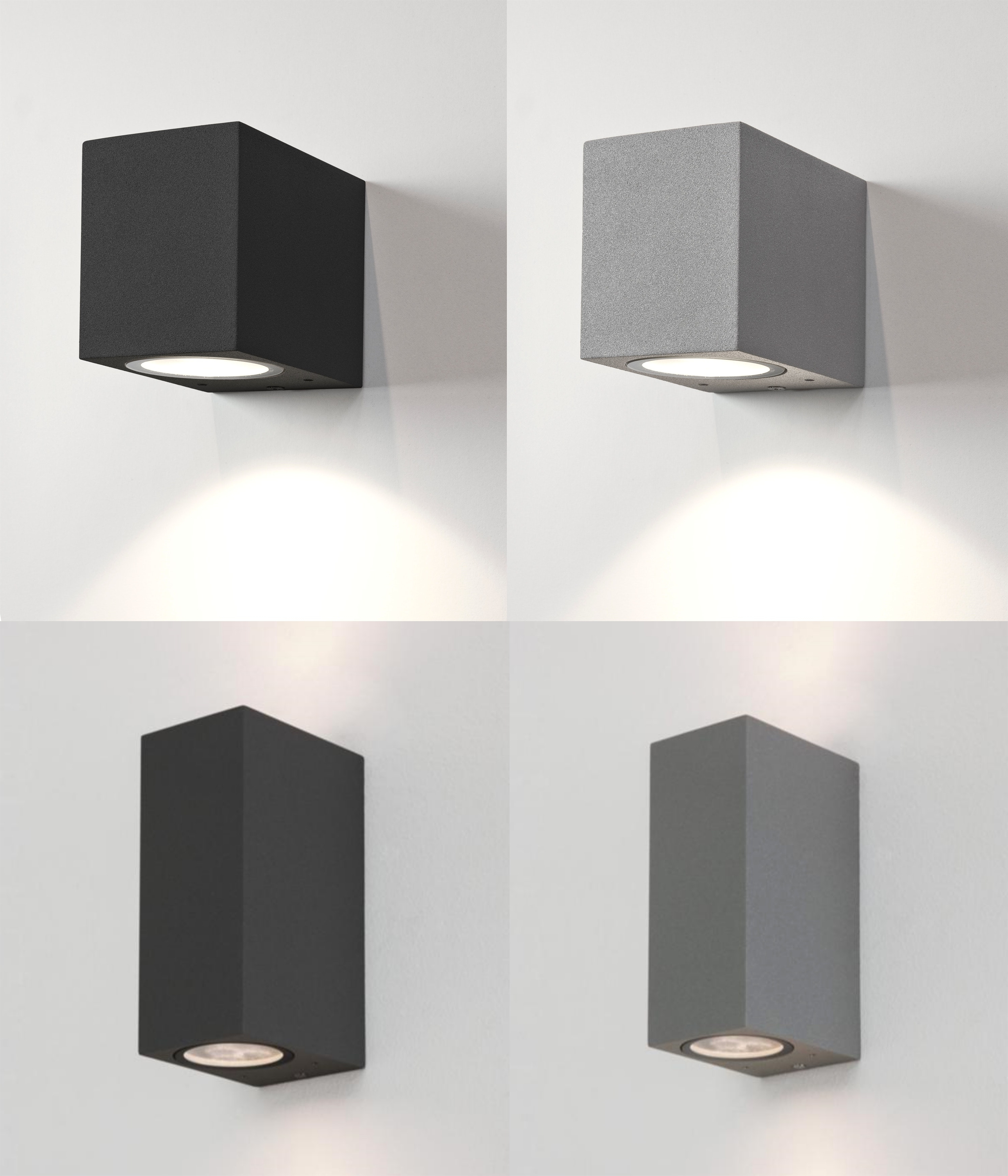 Well Liked Up Down Outdoor Wall Light And Astro Chios External Lights Halogen Regarding Rectangle Outdoor Wall Lights (View 15 of 20)