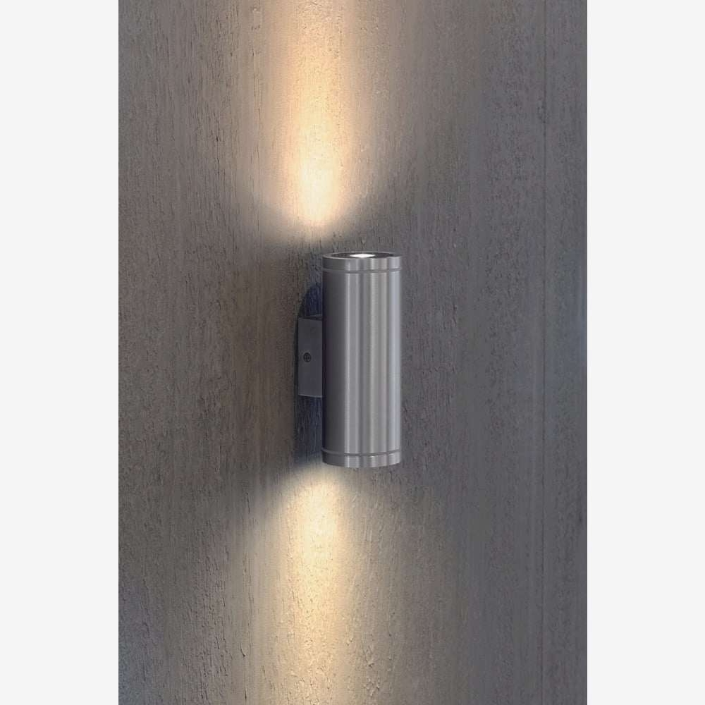 Well Liked White Led Outdoor Wall Lights Regarding Outdoor Wall Lights Uk New Interior Or Exterior Warm White Led (View 3 of 20)