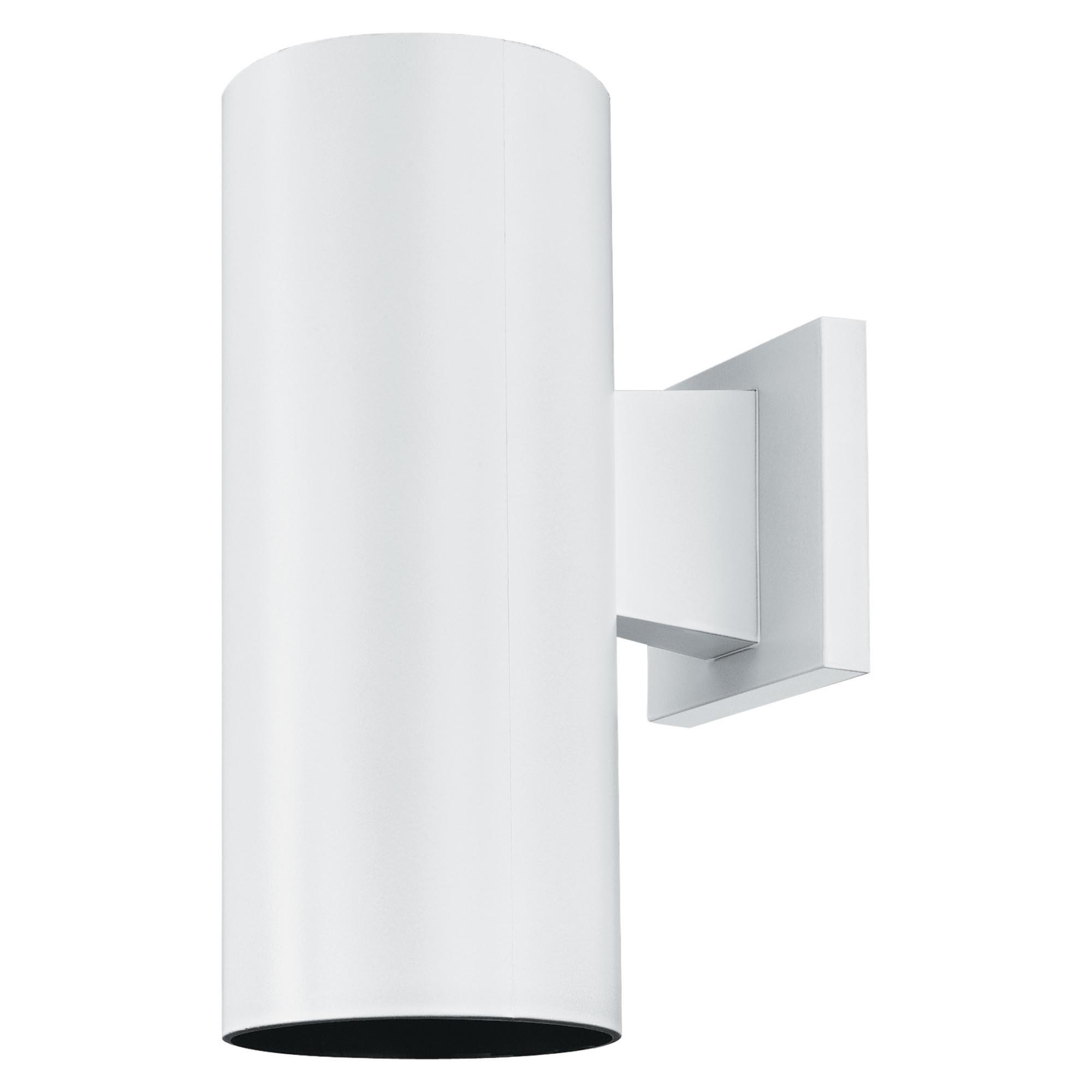 White Plastic Outdoor Light Fixtures • Outdoor Lighting Regarding Latest Plastic Outdoor Wall Lighting (View 18 of 20)