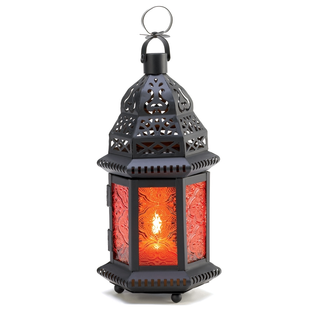 Wholesale Amber Moroccan Candle Lantern – Buy Wholesale Candle Lanterns Regarding Well Known Outdoor Hanging Candle Lanterns At Wholesale (View 19 of 20)