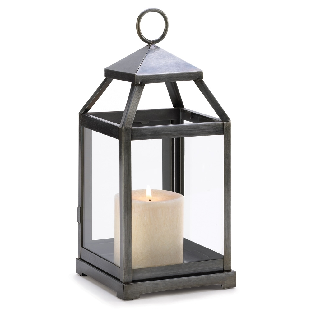 Wholesale Rustic Silver Contemporary Candle Lantern – Buy Wholesale Intended For Most Popular Outdoor Hanging Candle Lanterns (View 12 of 20)