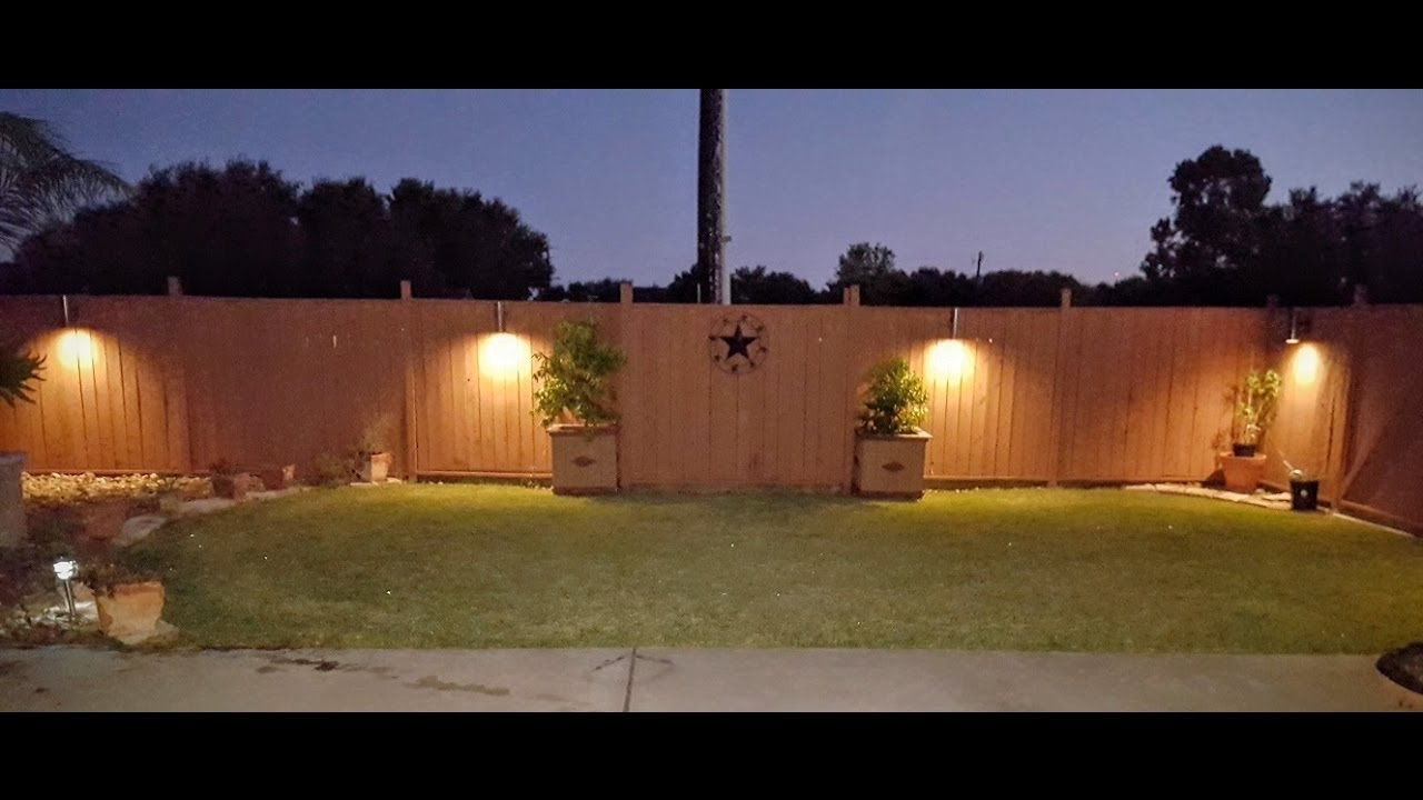 Widely Used 12 Volt Outdoor Hanging Lights In Diy $5 Pvc Led Landscape Lights – Youtube (View 19 of 20)