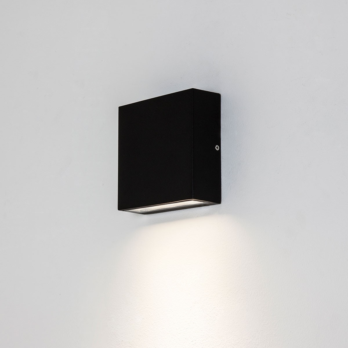 Widely Used Astro Elis Single Black Outdoor Led Wall Light At Uk Electrical For Black Outdoor Led Wall Lights (View 19 of 20)