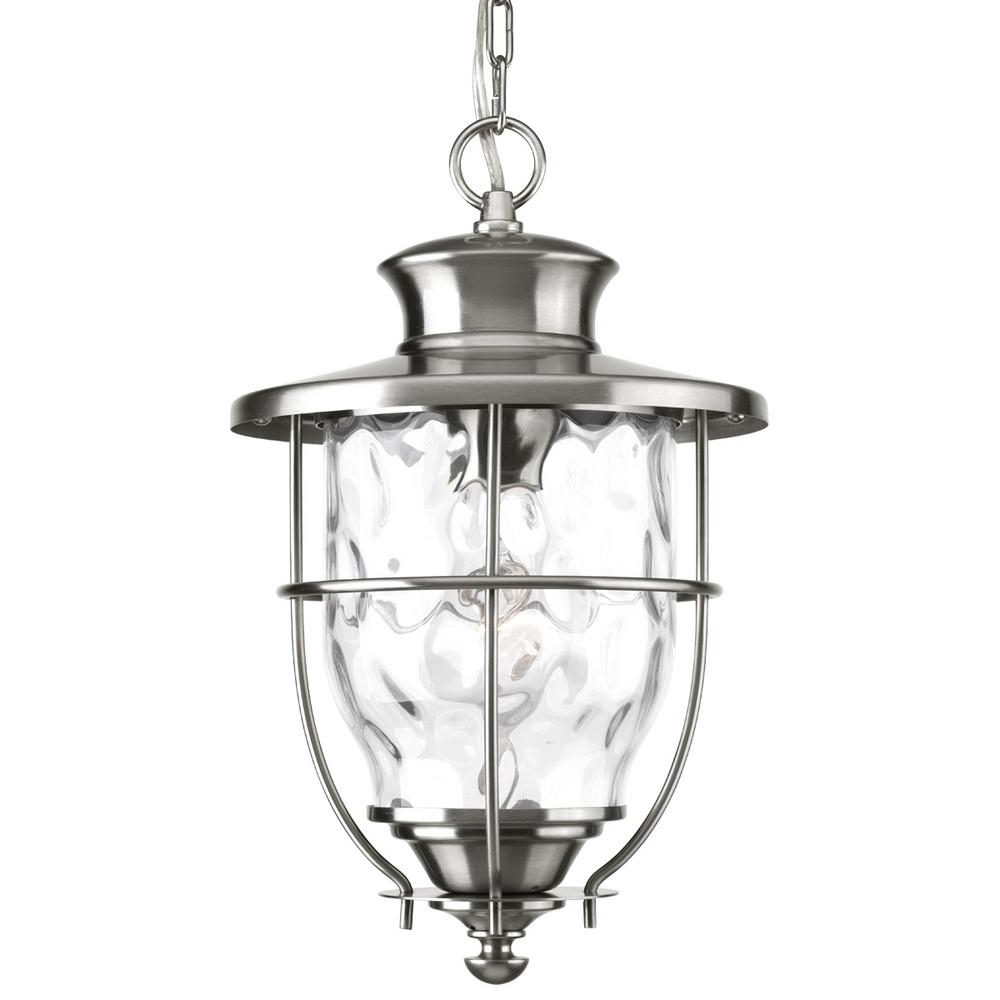 Widely Used Beacon Outdoor Ceiling Lights Throughout Progress Lighting Beacon Collection Stainless Steel Outdoor Hanging (View 20 of 20)