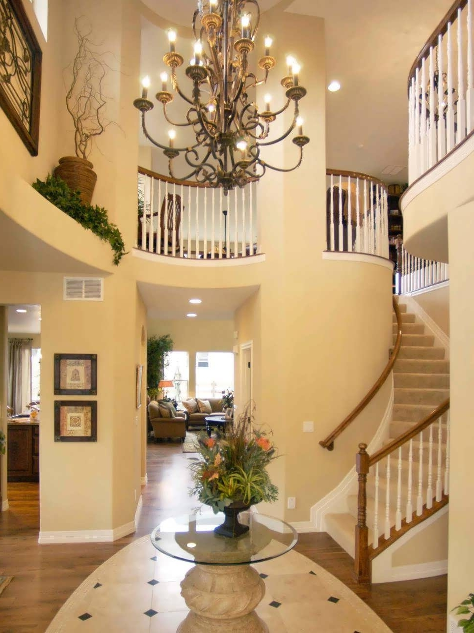 Widely Used Chandeliers Design : Fabulous Large Orb Chandelier Foyer Chandeliers Inside Hanging Outdoor Entrance Lights (View 10 of 20)