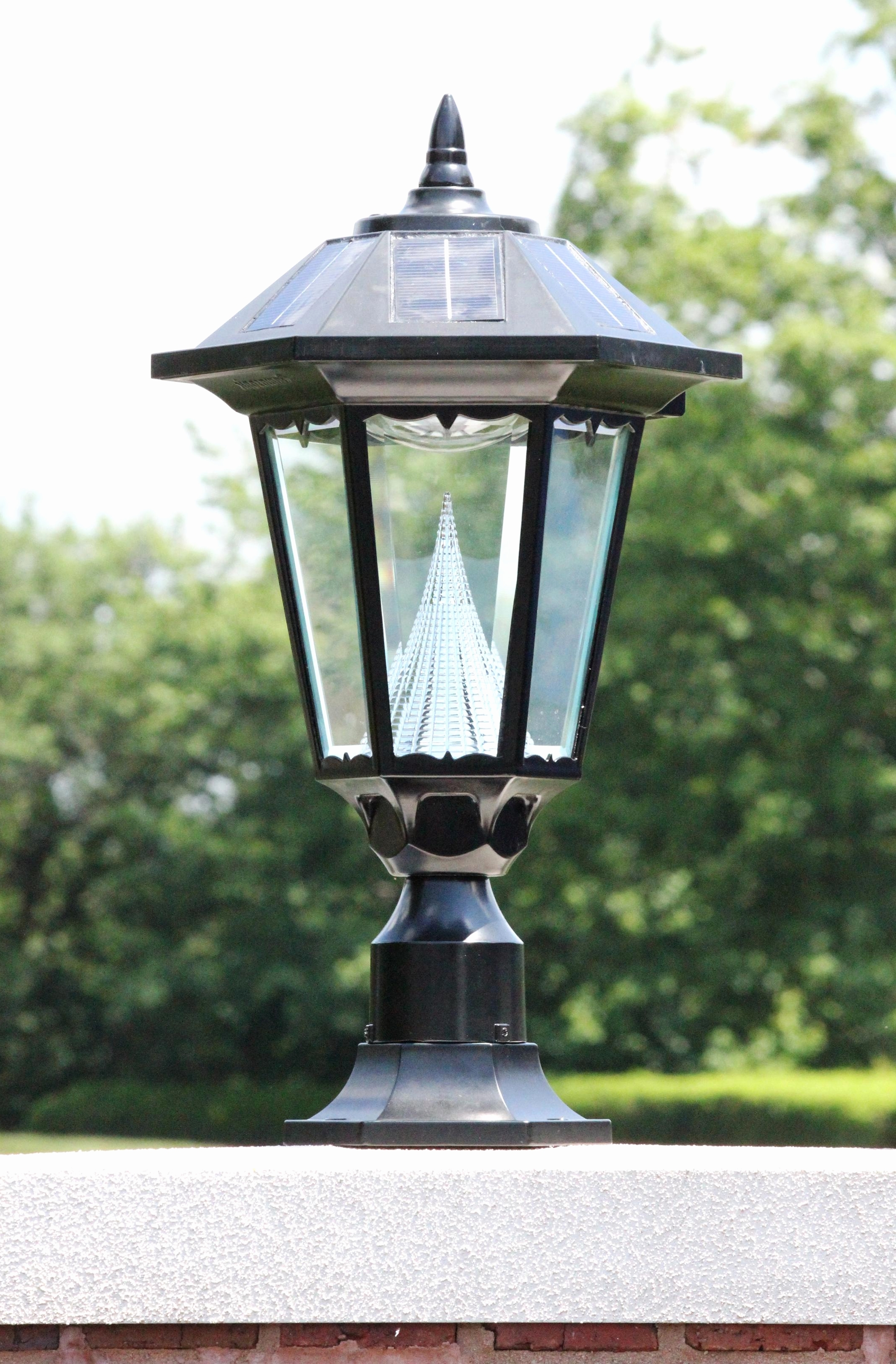 Widely Used Contemporary Garden Lights Fixture At Home Depot Within Solar Garden  Lights Home Depot Luxury