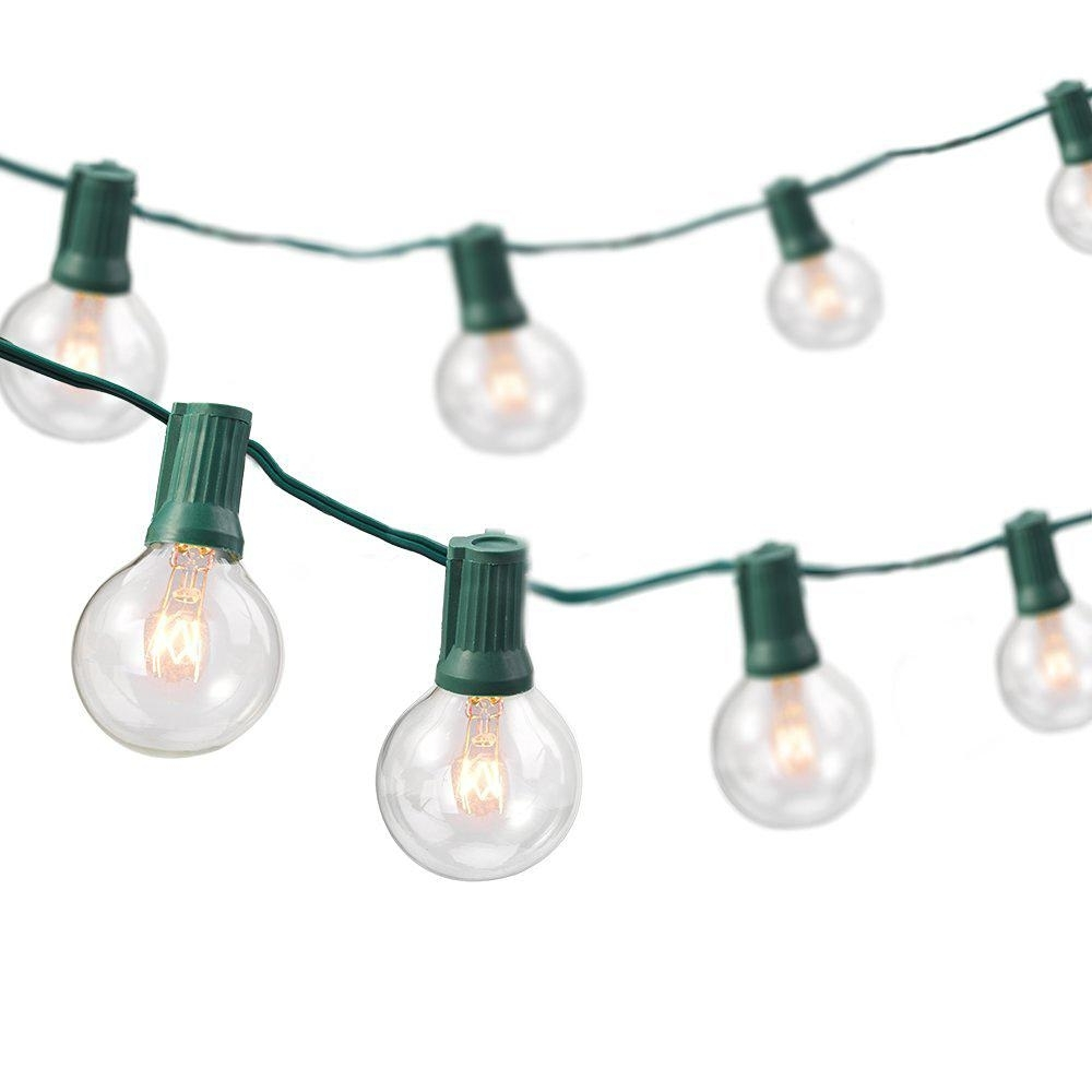 Widely Used Home Depot Outdoor String Lights Intended For Newhouse Lighting 25 Ft (View 18 of 20)