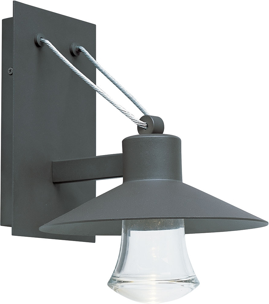 Widely Used Maxim 54362clabz Civic Contemporary Architectural Bronze Led Outdoor Intended For Contemporary Outdoor Wall Mount Lighting (View 11 of 20)