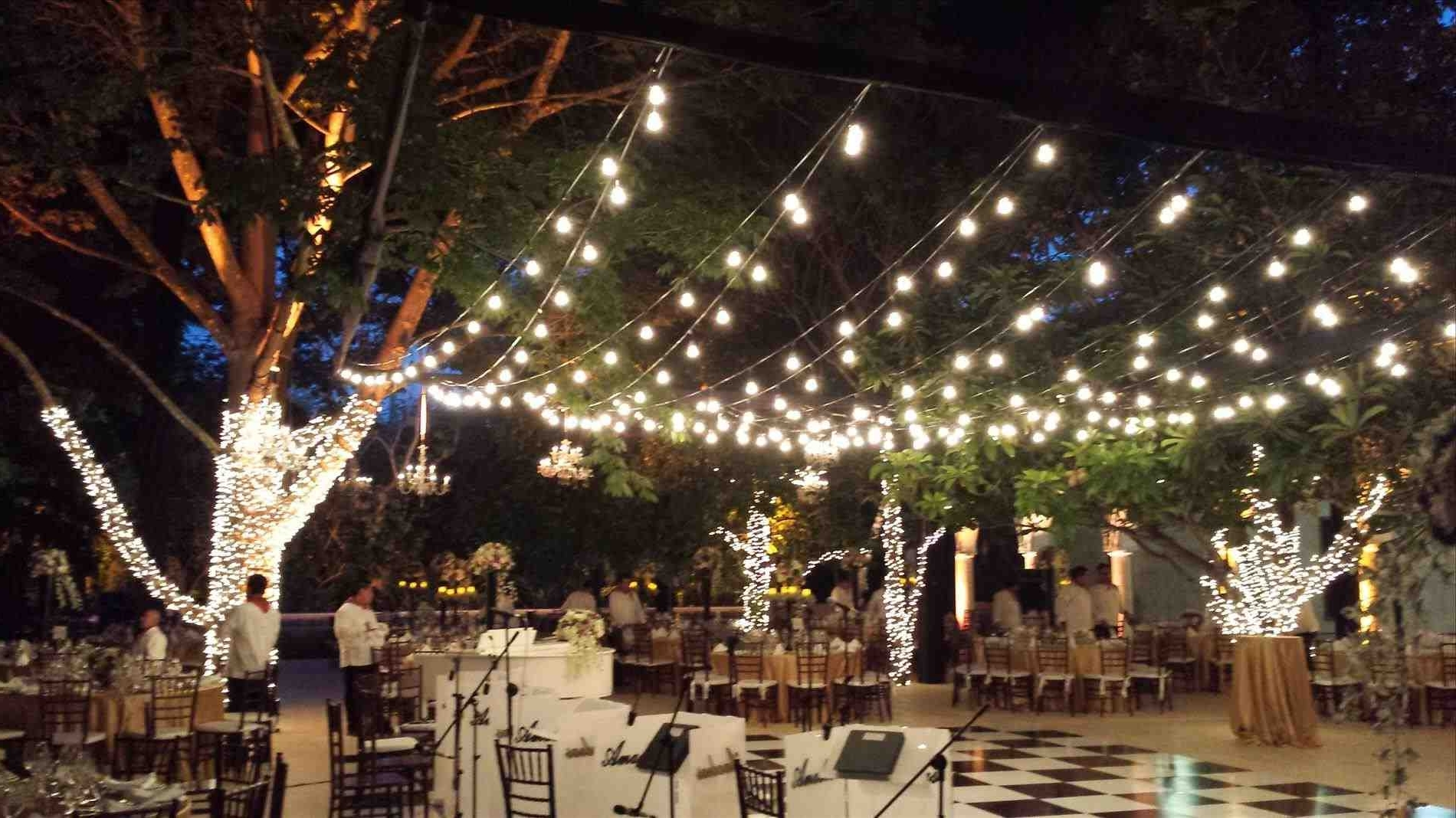 Widely Used Modern Outdoor String Lights At Wayfair In Outside String Lights – Dragg (View 20 of 20)