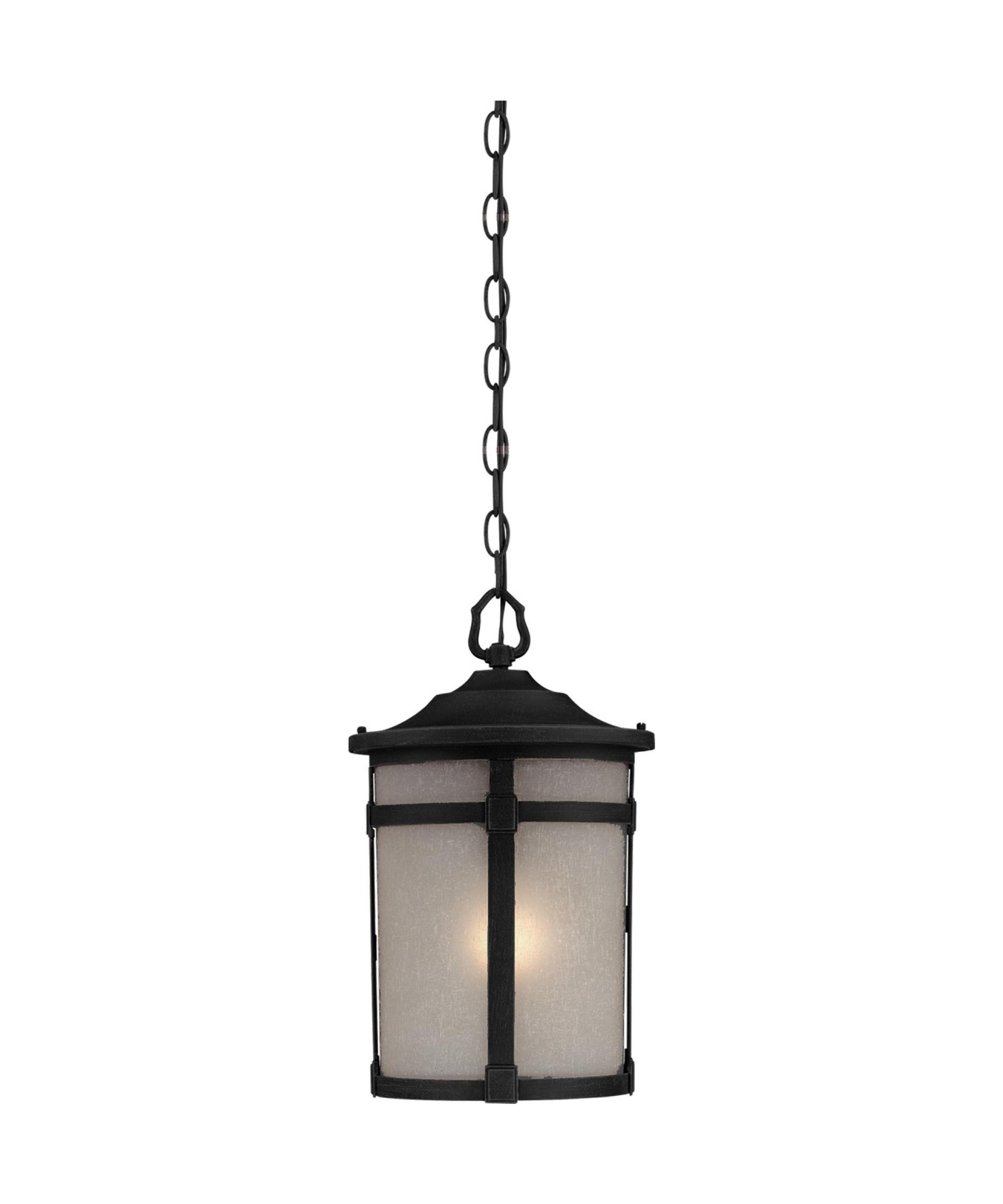 Widely Used Outdoor Hanging Lanterns At Lowes Regarding Patio Lights Lowes Unique Artcraft St Moritz 10 Inch Wide 1 Light (View 20 of 20)