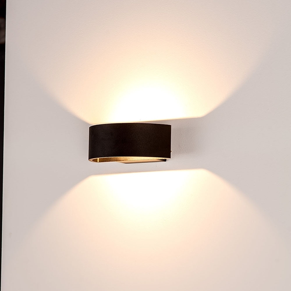 Widely Used Outdoor Up Down Wall Led Lights Intended For Furniture : Modern Outdoor Sconces Menards Lighting Led Down Wall (View 20 of 20)