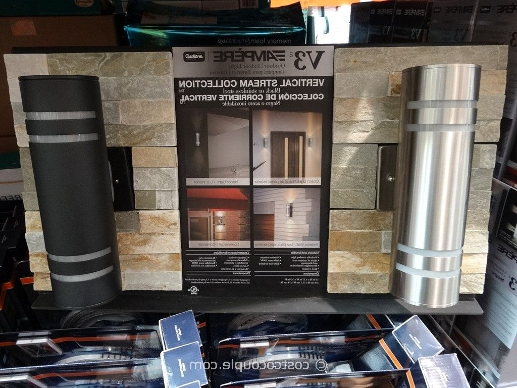 Widely Used Outdoor Wall Lighting At Costco With Regard To Excellent Costco Exterior Lights Decor Of Window Collection Costco (View 10 of 20)
