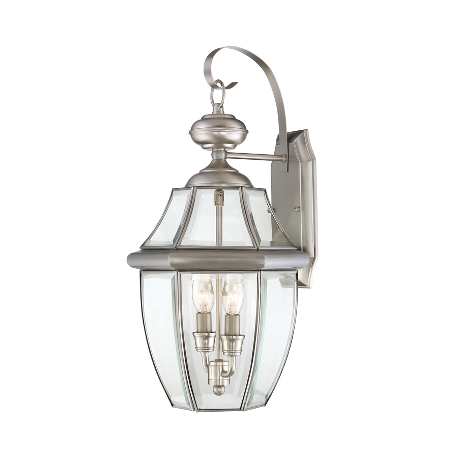 Widely Used Pewter Outdoor Wall Lights Throughout Shop Portfolio Brayden 20.25 In H Pewter Outdoor Wall Light At Lowes (Gallery 3 of 20)