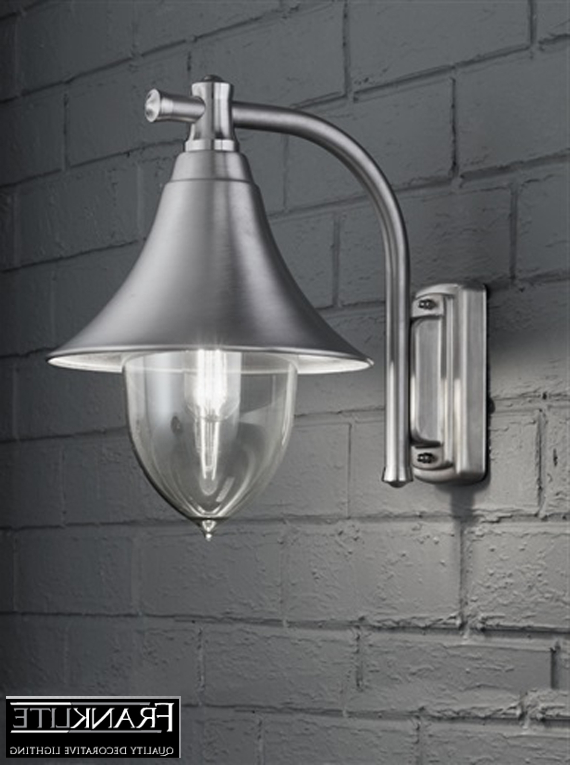 Widely Used Quality Outdoor Wall Lighting Within Fresh Best Stainless Steel Outside Wall Lights Us Kl # (View 19 of 20)