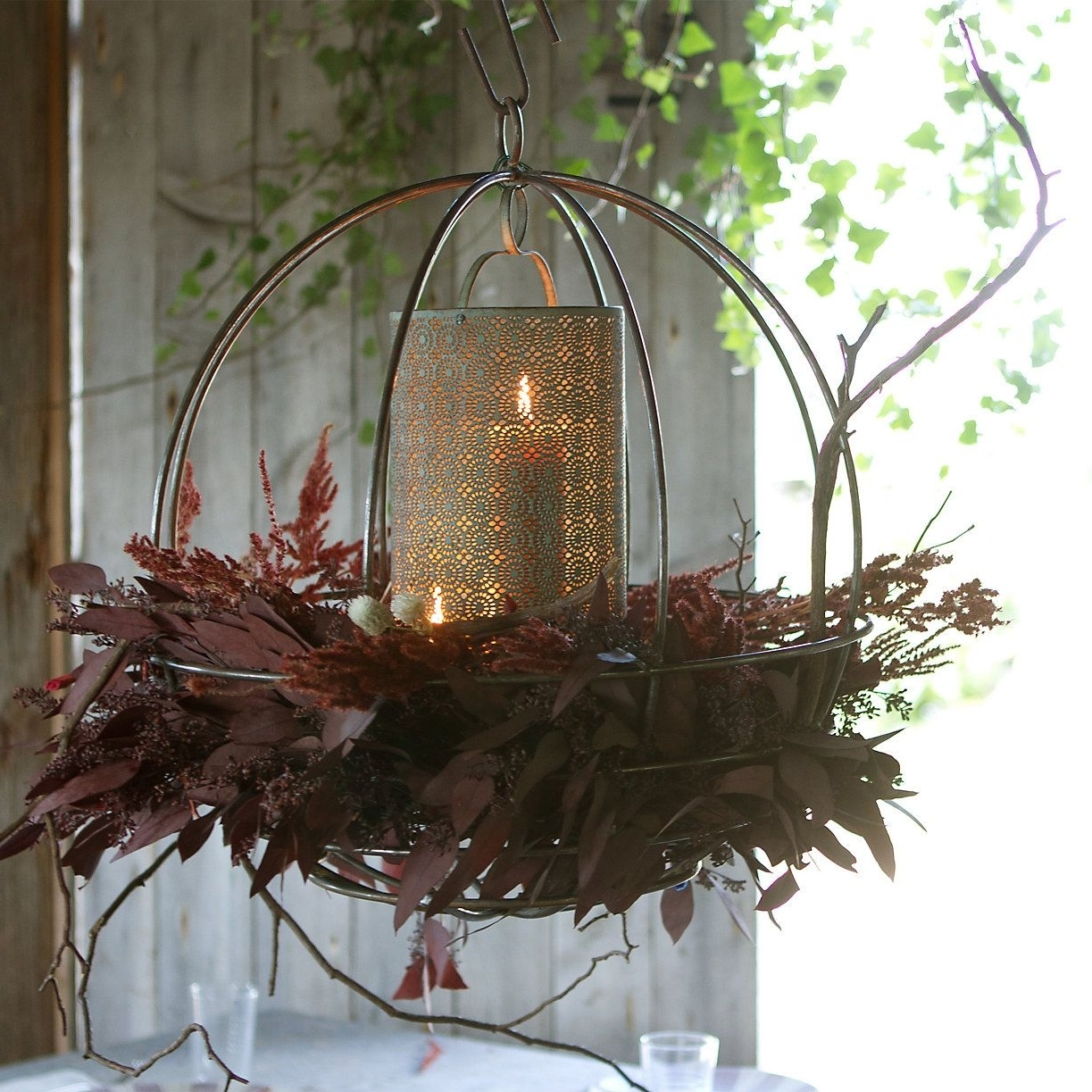 Widely Used Sphere Hanging Basket In Outdoor Living Garden Décor Lighting At Throughout Outdoor Hanging Basket Lights (View 4 of 20)