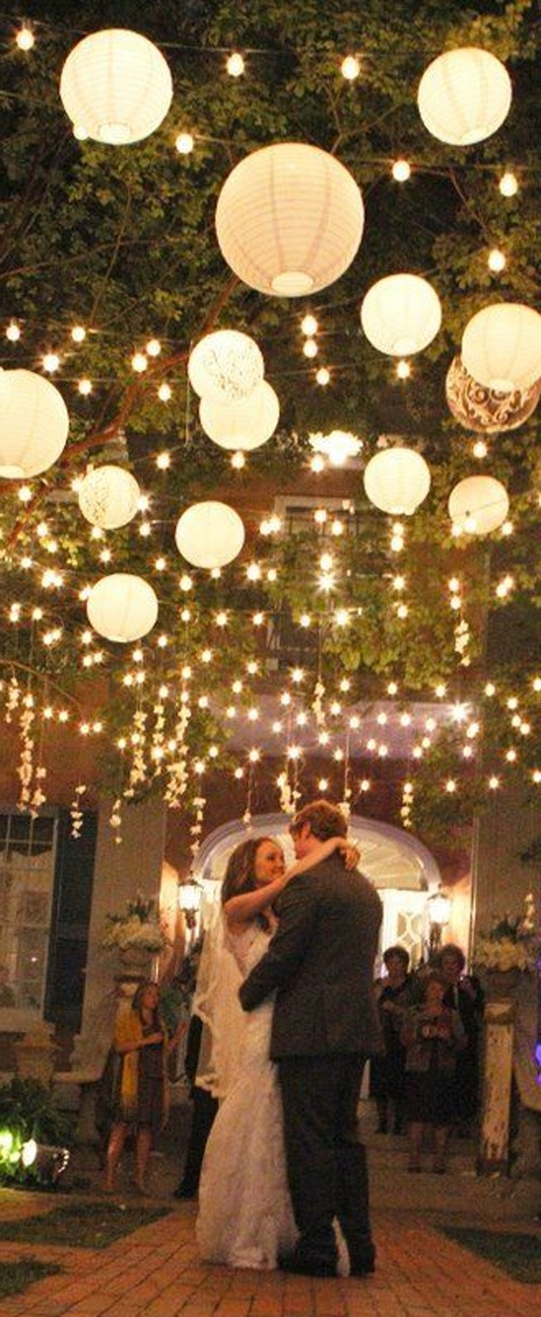 Widely Used Wow Factor Wedding Ideas Without Breaking The Budget With Regard To Outdoor Hanging Lanterns For Wedding (View 7 of 20)