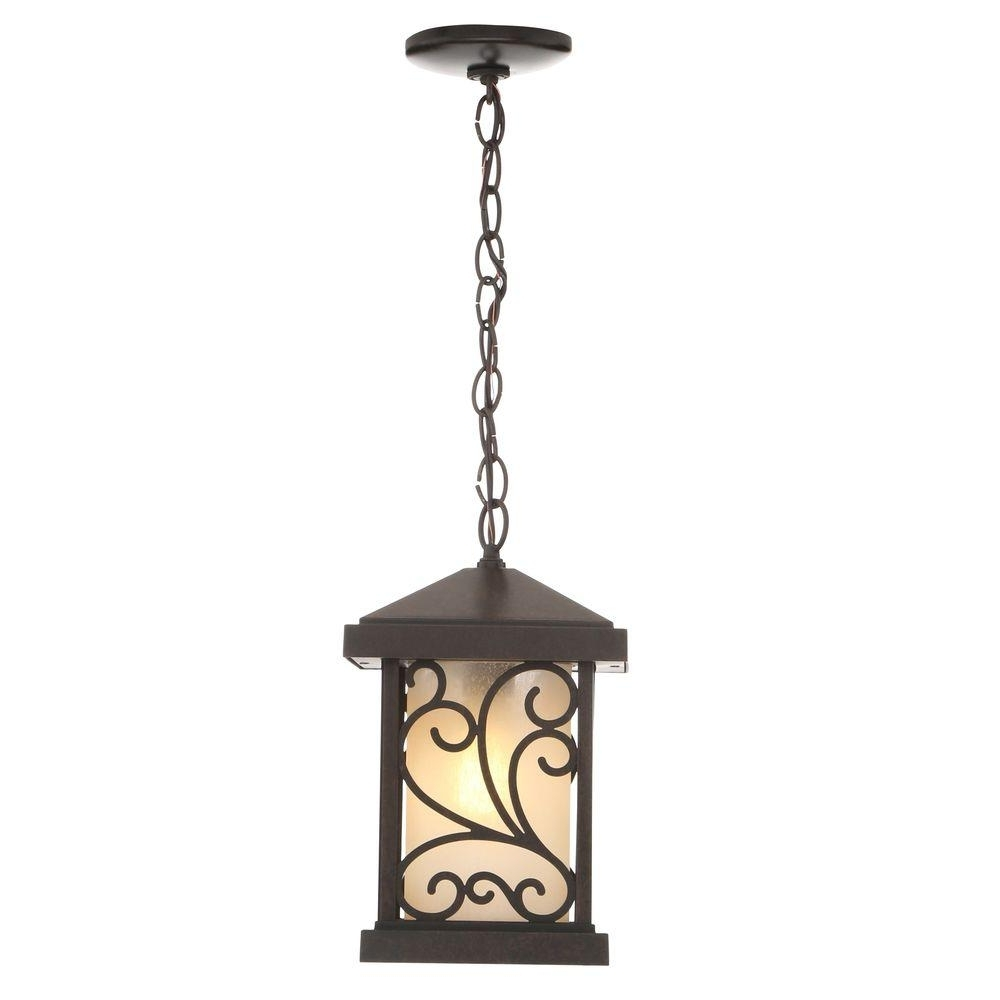 World Imports – Bronze – Cage – Pendant Lights – Lighting – The Home Regarding Most Up To Date Outdoor Hanging Lights At Home Depot (View 14 of 20)