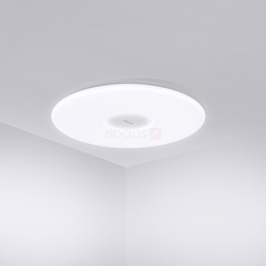 Xiaomi Philips Led Ceiling Light 33w 2700 5700k App Control Smart Lamp For Best And Newest Philips Outdoor Ceiling Lights (View 3 of 20)