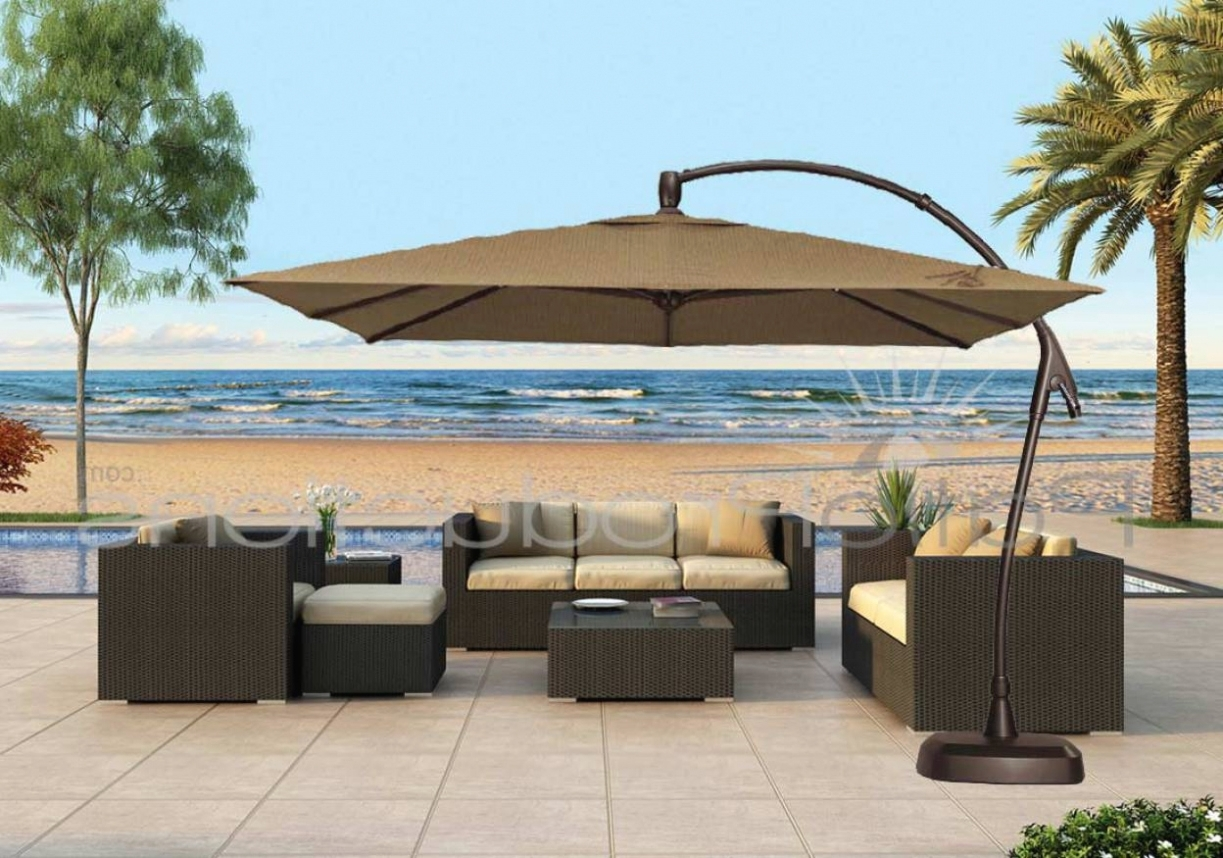 12 Foot Cantilever Patio Umbrella (Gallery 3 of 20)