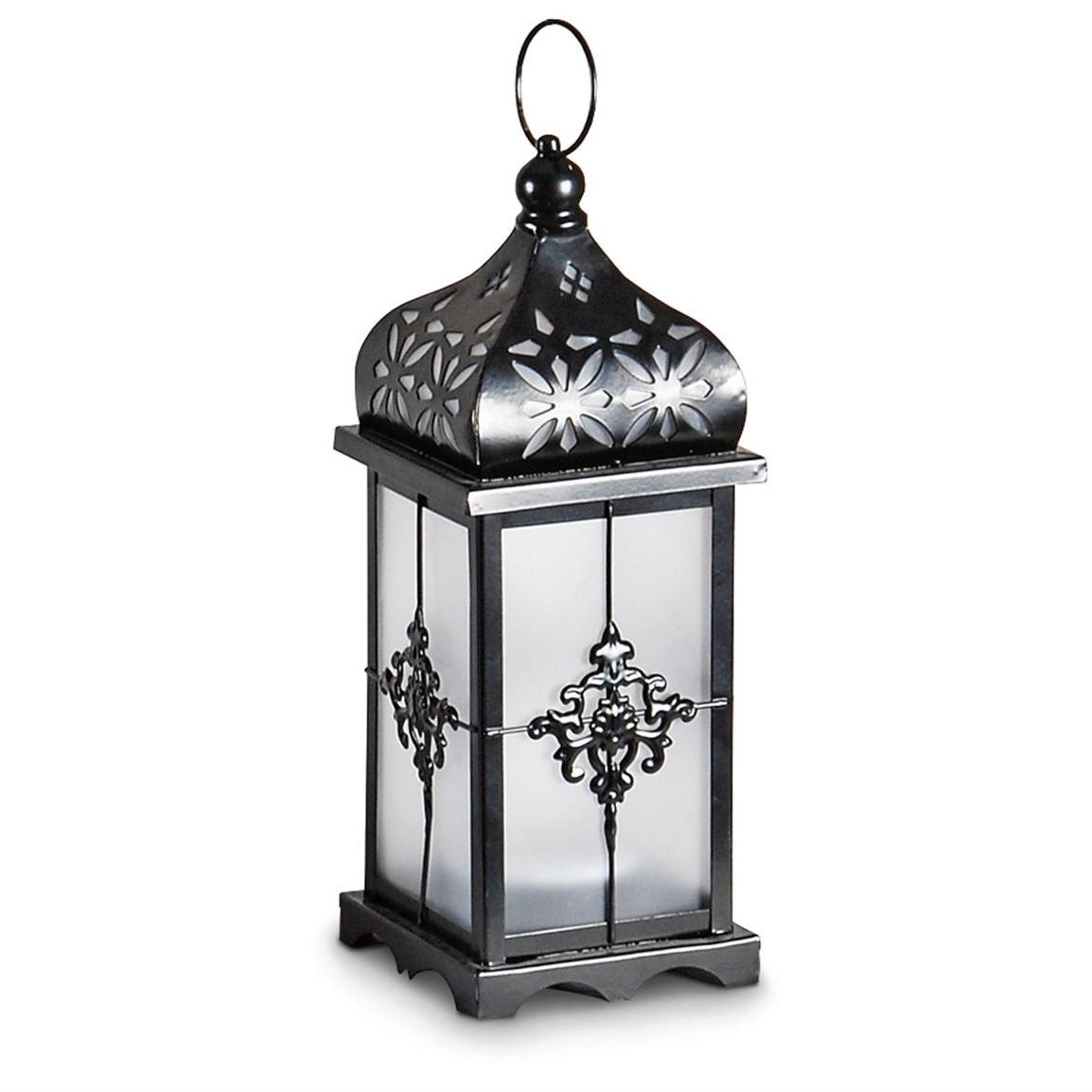 2 Filigree Solar Lanterns – 232102, Solar & Outdoor Lighting At In Most Popular Outdoor Decorative Lanterns (View 1 of 20)
